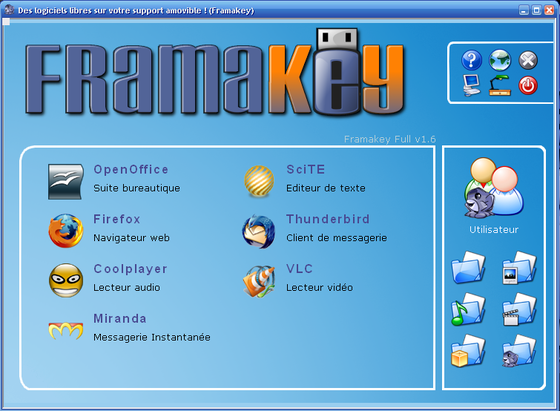 capture Framakey 1.6.0.0
